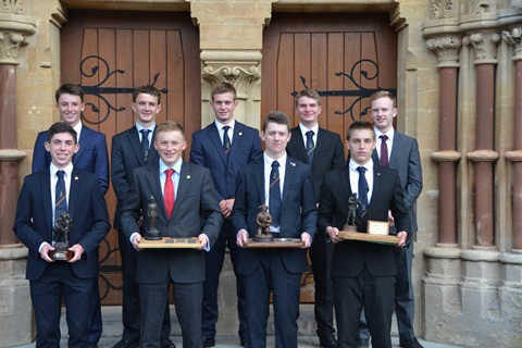 151008 KC - King's College Cadets Compete in the Prestigious Sir Steuart Pringle Trophy Competition