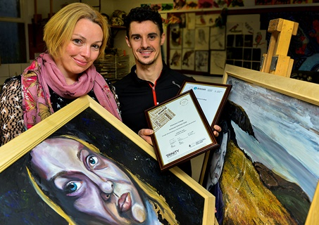 151201 EC - Visit from the Royal Ballet Marks Award for Cultural Educatione